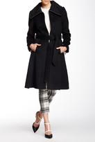 Eliza J Wool Blend Coat