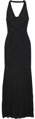 Herve Leger Priscilla Crochet-paneled Bandage Gown