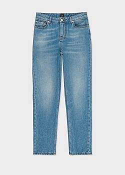 Paul Smith Women's Light-Wash Girlfriend-Fit Jeans