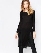 Vero Moda Long Sleeve Sweater Midi Dress
