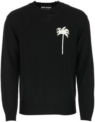 Palm Angels Tree Jacquard Sweater