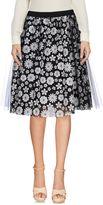 Vicolo Knee length skirts