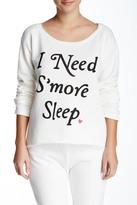 Junk Food Clothing S'more Sleep Sweatshirt