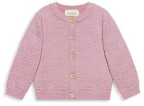 Gucci Baby Girl's Long-Sleeve Cardigan