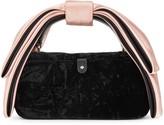 Kate Spade Bowie black velvet cross-body bag