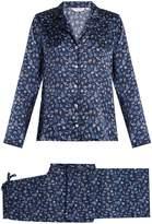 Derek Rose Brindisi 23 silk-satin pyjama set