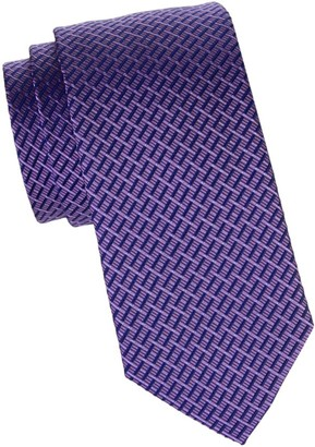 Canali Deco Silk Tie