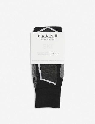 FALKE ERGONOMIC SPORT SYSTEM SK2 wool-blend socks ski socks