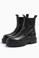 Topshop ARGAN Black Chelsea Boots