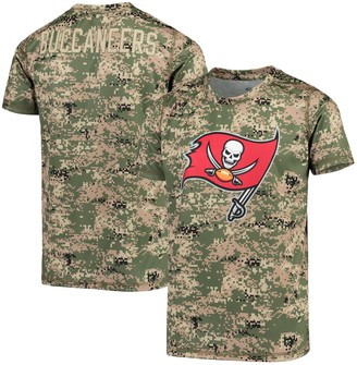 Outerstuff Youth Camo Tampa Bay Buccaneers Alpha Sublimated Dri-Tek T-Shirt