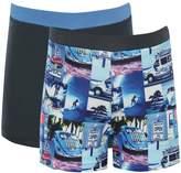 M&Co Campervan swim trunks two pack