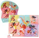"Crocodile Creek Girls Sports Game On! 72 piece Junior Jigsaw Puzzle 14"" x 19"""