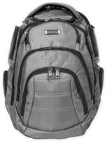 Kenneth Cole Double Compartment 17-Inch Computer Backpack in Charcoal
