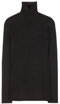 Prada Wool And Silk Turtleneck Sweater
