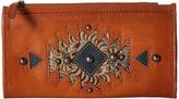 American West Folded Wallet