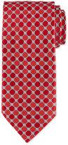 Eton Octagon-Print Silk Tie