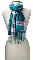 Classic Women's CashTouch Plaid Scarf-Sweet Rose