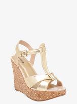 Torrid Studded Metallic Wedge Sandals (Wide Width)