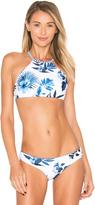 Seafolly Tropic Coast High Neck Bikini Top