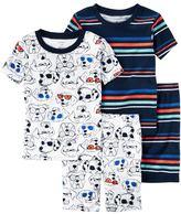 Carter's Toddler Boy Graphic & Print 4-pc. Pajama Set