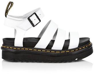 Dr. Martens Blaire Leather Gladiator Sandals