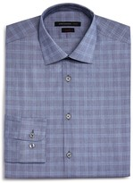 John Varvatos Window Check Slim Fit Dress Shirt