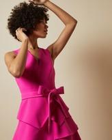 Ted Baker Tiered Sleeveless Dress