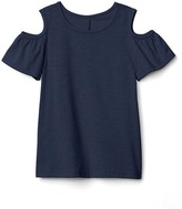 Gap Cold shoulder slub tee