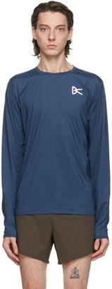 District Vision Blue Air-Wear Long Sleeve T-Shirt