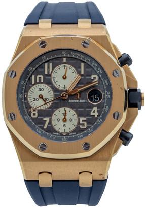 Audemars Piguet Audemars Piquet Royal Oak Offshore Rose Gold Grey Dial Chronograph Watch 42 MM