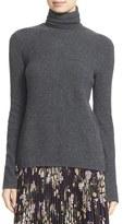 A.L.C. Women's 'Pippa' Surplice Back Wool & Cashmere Turtleneck Sweater