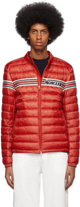Moncler Red Down Retro Renauld Jacket