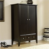 Sauder Shoal Creek Armoire, Jamocha Wood