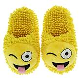 Aroma Home Shoes Women's Fuzzy Open Back Slippers,M 39-41 EU
