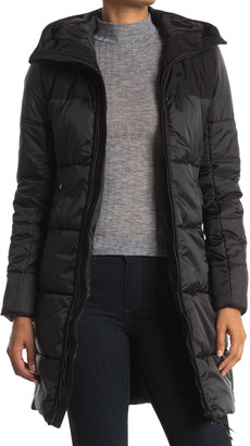 G Star Quilted Hooded Puffer Jacket