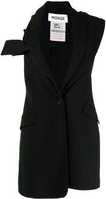 Monse Double Lapel Jacket Dress