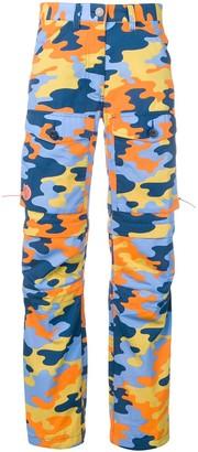 Acne Studios x Fjallraven Gaiter cargo trousers