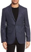 Sand Check Wool Blazer