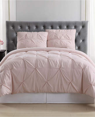 Truly Soft Pleated Twin Xl Duvet Set Bedding