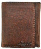Rawlings Sports Accessories Leather Tri-Fold Travel Case