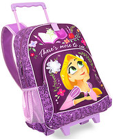 Disney Rapunzel Rolling Backpack - Tangled: The Series - Personalizable