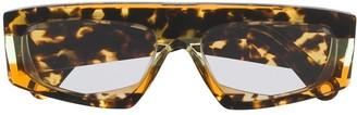 Jacquemus Yauco tortoiseshell sunglasses