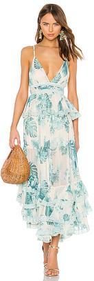 Rococo Sand Echo Maxi Dress