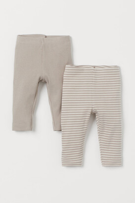 H&M 2-pack Cotton Leggings
