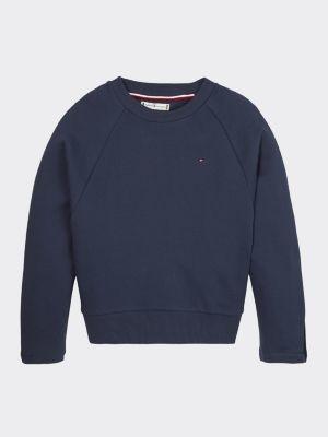 Tommy Hilfiger Pure Cotton Signature Tape Sweatshirt