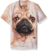 The Mountain Pug Face Kids T-Shirt - Kids Medium