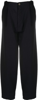 Societe Anonyme High-Rise Shadow Strip Trousers
