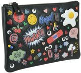 Anya Hindmarch All Over Wink Stickers Pouch