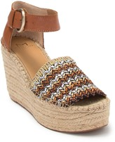 Marc Fisher Alida Knit Espadrille Platform Wedge