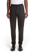 Givenchy Men's Star Grosgain Wool Pants
